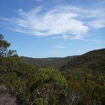 Looking west into Joe Crafts Creek valley (356219)