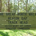 Heaton Gap Track Head sign (358844)