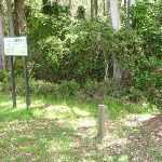 GNW sign beside Heaton Lookout (359555)