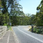 Crossing the Mooney Mooney Creek bridge on the old Pacific Hwy (373807)