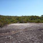 Crossing another rockplatform North of Mt Wondabyne (380927)