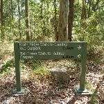 Sign on the Main Ridge Walk in the Blackbutt Reserve (400333)