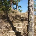 Steps up to the middle Sea Eagle Lookout (402697)
