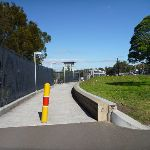 Path beside Berowra Station (418861)