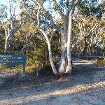 Baltzer Lookout car park gate (51554)