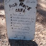 Bush Rock Cafe sign at Neates Glen car park (51731)
