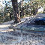 Track round Evans Lookout car park (51974)
