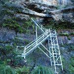 Metal staircase (52292)