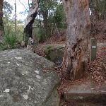 Arrow marker beside track (54722)