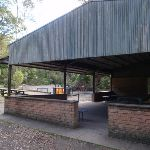 Picnic shelter above Riverside walk (54899)