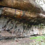 Nice Rock overhang Near Mowbray Park (55847)
