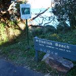 Sign for Obelisk Beach (57362)