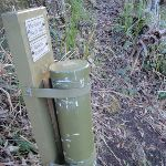 Walkers Register box near Heaton Gap Lookout (63101)