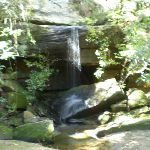 waterfall on path to Crosslands (6328)
