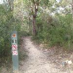 Signpost beside track (63869)