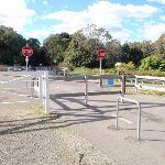 old Belomnt railway crossing Burwood road (66627)
