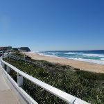 looking North along Bar Beach (67098)