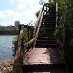 Stairs at Taronga Wharf (69892)