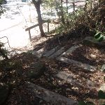 steps down to Berowra Waters (72244)