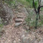 Rock steps near Florabella Pass Int. (73668)