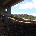 under the alfords point bridge (77164)