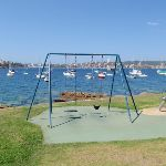 Swings facing Manly (79021)
