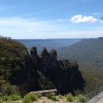 View of the Three Sisters from Echo Point (92491)