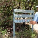 Sign along Coast Track (99539)